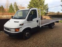 IVECO DAILY 35c11 2.8 FLATBED PICKUP IDEAL RECOVERY 16.5FT BED