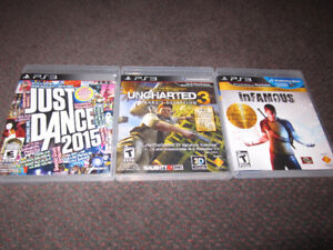 September Assortment of PS3 Games - NEW, store-opened $18 & up