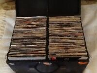 JOB LOT OF 264 SINGLE VINYL RECORDS