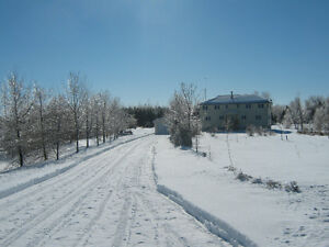 Peaceful Country Living on Private 5.95 Acres in South Stormont