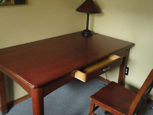 Solid Wooden Desk, or Table