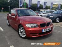 2010 BMW 1 SERIES 120d ES Aux Mp3 Input Cruise 6 Speed Climate Control