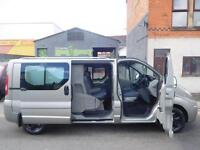 Finance me! Renault Trafic sport LWB 2.0dCi 6 seat factory fitted crew van (24)