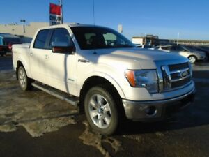 2012 Ford F-150 Lariat 4X4 w/Navigation, Heated & Leather Seats