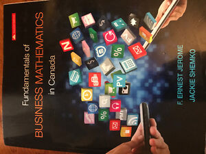 Fundamentals of Business Mathematics in Canada - Second Edition