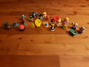 Collection of Fisher Price Little People