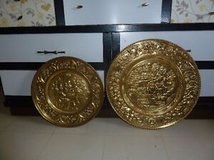 Brass wall plates and a planter $10 ea/ $25 for all