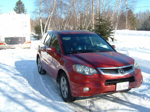 2007 Acura RDX sh/awd SUV, no accidents,no rust or dents