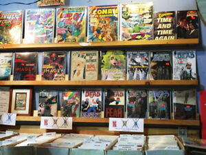 Over 2,500 Vintage Comics ~ Plus Vintage Board Games & more