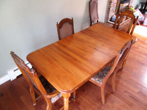 All Wood Dining Table Set