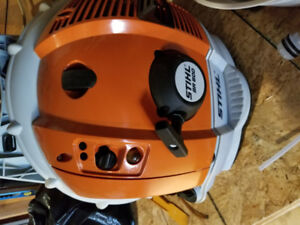 trading stihl leaf blower for speakers