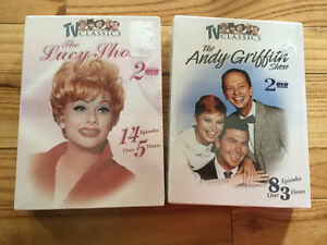 Two TV series seasons New never opened - Lucy &a Andy Griffith
