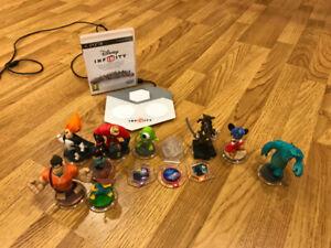 Figurines et jeux Disney Infinity pour PS3