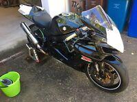 Suzuki GSXR 750 k7 track bike with OHLINS TTX, top spec & V5!