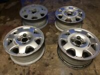 Rover metro alloy wheels