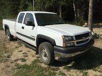 2003 Chevrolet 2500HD Ext Cab Work Truck