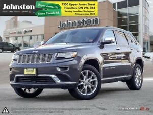 2015 Jeep Grand Cherokee Summit  ~ Safety Tech Group ~ Sunroof ~