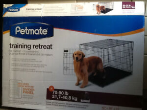 Pet mate wire training kennel 70 to 90 lb dog