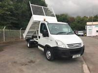 IVECO DAILY SINGLE CAB DROP SIDE TIPPER
