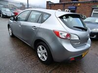 Mazda 3 1.6D TS ( 1 OWNER + LOW RATE FINANCE AVAILABLE) (silver) 2009
