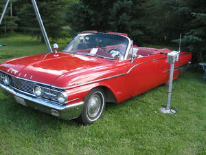 1961 Mercury Meteor Montcalm 2-dr Convertible Only 424 Produced!