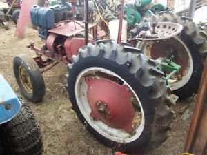 antique tractors and sawmill
