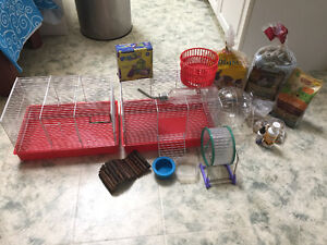 Hamster cages & all supplies