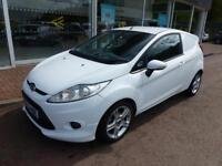 Ford Fiesta 1.6 Tdci 95ps Sport Van Car Derived Van