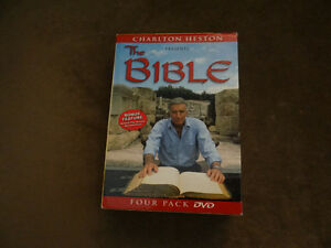 Charlton Heston presents 'The BIBLE' 4 pk dvd