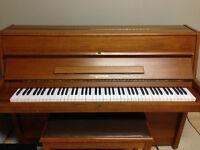 "42"" Upright Klingerman piano for sale"