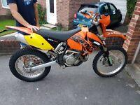 Ktm 525 exc 2003
