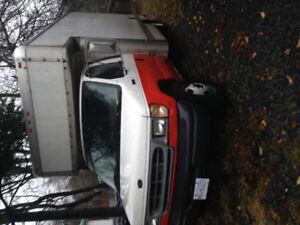 1998 ford cube van retired u-haul