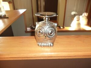 BowRing Owl Candle Holder
