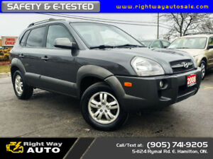 2008 Hyundai Tucson GL | NEW TIRES | 4WD | SAFETY & E-TESTED