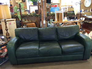 GENUINE LEATHER SOFA AND LOVESEAT!!