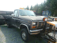 1986 Ford F-250 + Pelle