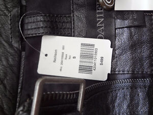 Genuine Leather Lambskin Jacket, Size S, brand new with tags Cambridge Kitchener Area image 5