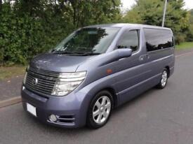 2004 Nissan Elgrand 3500 HIGHWAY STAR 4WD FRESH IMPORT 5dr