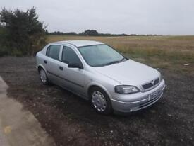 2002 Vauxhall Astra G 1.4i 16v LS Petrol Manual 5 Door Hatchback Silver Long MOT