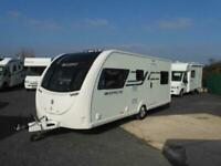 Swift Sprite Major 6TD six berth caravan with bunk beds