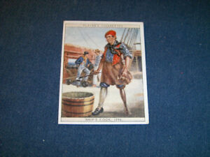 SHIP'S COOK-VINTAGE PLAYER'S CIGARETTES CARD-NO. 15-1930S