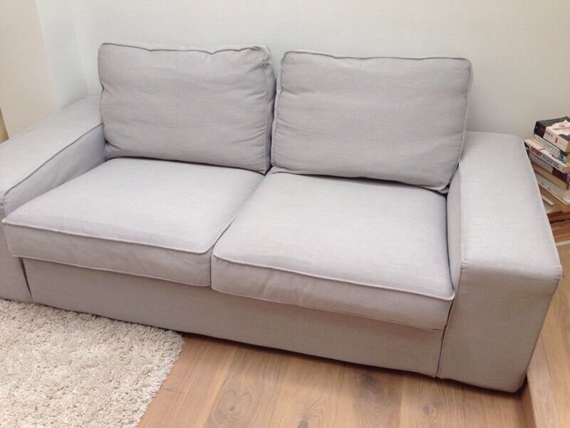 Magnificent Ikea Kivik Sofa 2 Seater Grey Almost New In Wimbledon London Gumtree Pabps2019 Chair Design Images Pabps2019Com