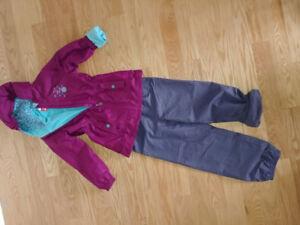 Vêtements variés fille grandeur 6-10 ans