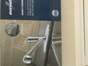 Eurostream pull-out faucet