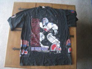 Vintage 1994 Quebec Nordiques Shirt.