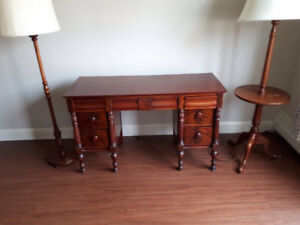 Antique writing desk - immaculate condition