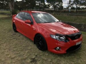 2011 Ford Falcon FG Upgrade XR6 Red 6 Speed Manual Sedan Mayfield East Newcastle Area Preview