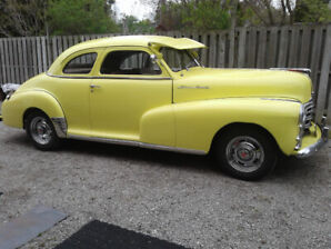 1948 PONTIAC SILVER STREAK 2 Door Coupe $22,000 CERTIFIED