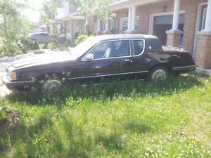 1985 Cougar 302 5.0L V8  Runs and drives; needs safety