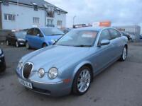 2005 Jaguar S-Type Saloon 2.7d V6 206 SE Auto6 Diesel blue Automatic